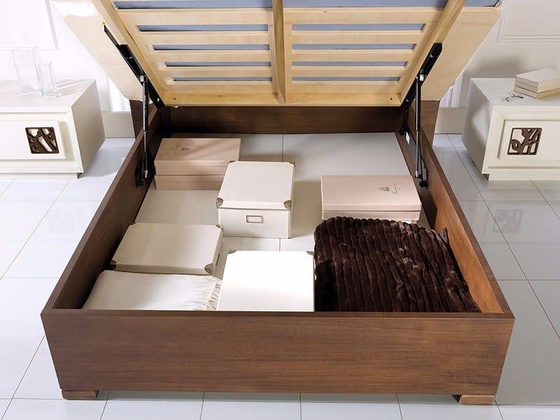 Prima Classe letto, Letto contenitore in legno