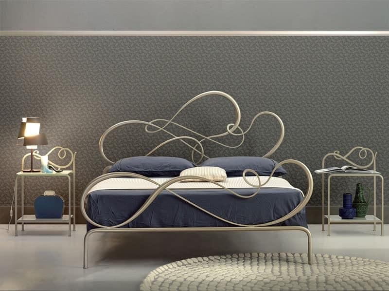 Letto classico in ferro per Camera da letto elegante | IDFdesign