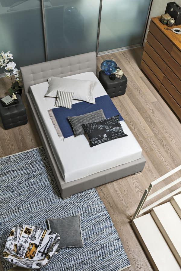 CHAMONIX SD427, Letto moderno per camere di albergo