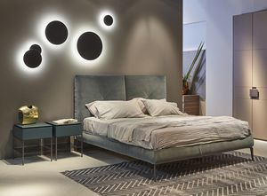CHARLOTTE comp.03, Elegante letto moderno