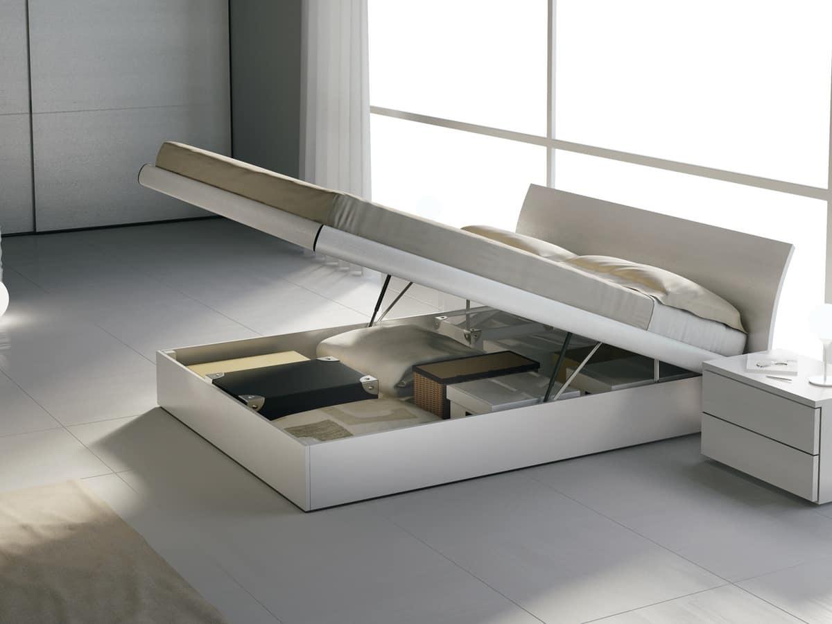 HOME P10 Moderno Prodotti Letti Moderni in legno