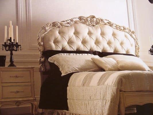 Letto barocco art 1753 - Testata letto antica ...