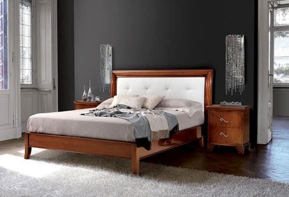 Letto intagliato art 396 vivre letto - Spalliere letto in legno ...