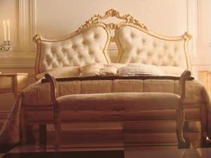 Art. 5900, Letto matrimoniale per camera da letto, classico, per hotel