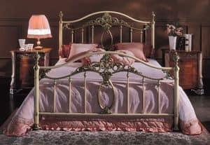 Immagine di GIORGIA 1299 BRO/AV, letto classico in ottone