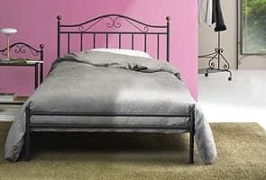 Camere Da Letto Tradizionali : Letto classico in ferro per camera da letto tradizionale
