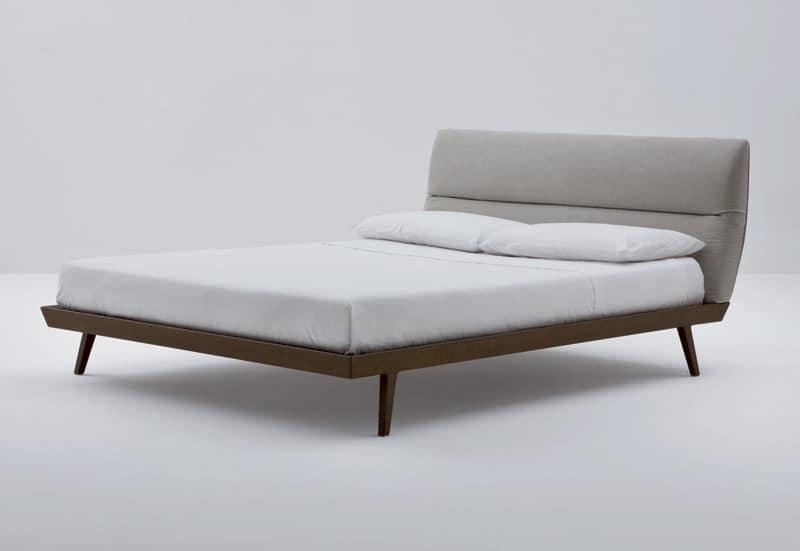 Letto design anni 50, semplice ed elegante  IDFdesign