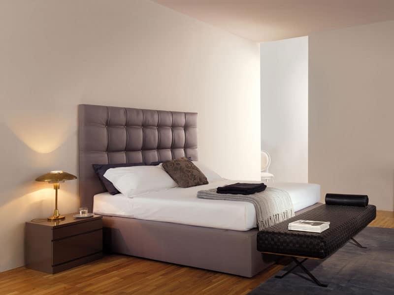 letto sommier b b idfdesign. Black Bedroom Furniture Sets. Home Design Ideas