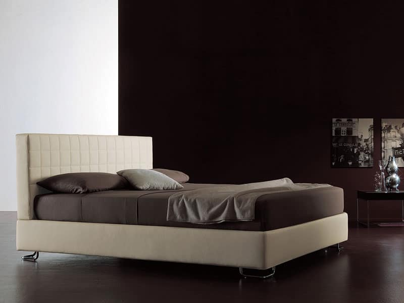 Tender, Letto moderno, testata trapuntata, per Stanza da letto