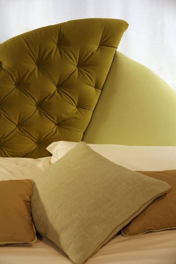 Vogue, Letto imbottito, testata originale, per hotel classici