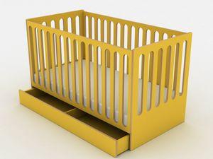 Sleep, Culla trasformabile in letto Montessori