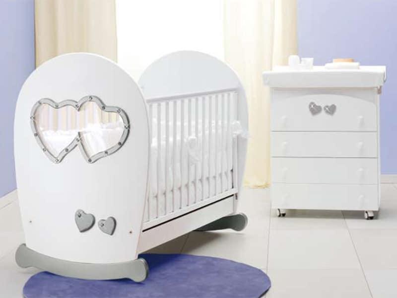 Cameretta Chicco : Culle per neonati. tectake culla per bambini con baldacchino lettino