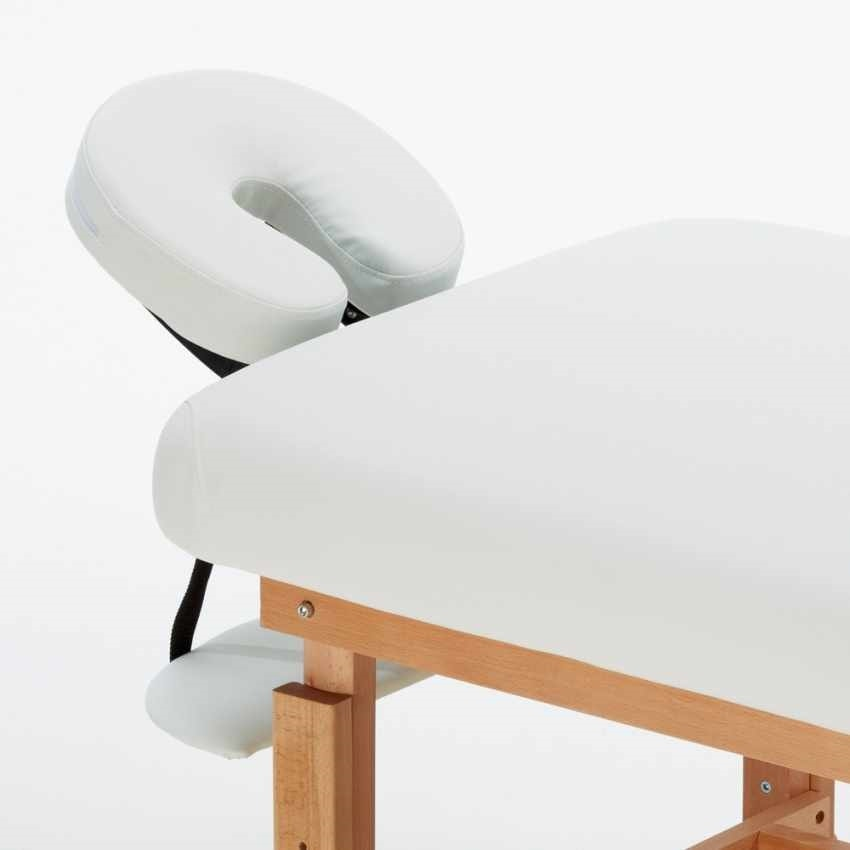 Lettino Massaggio Fisso Legno.Lettino Per Massaggi Con Poggiatesta E Poggiabraccia Idfdesign