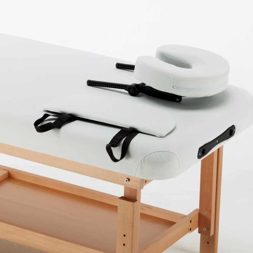 Lettino Da Massaggio Fisso.Lettino Per Massaggi Con Poggiatesta E Poggiabraccia Idfdesign