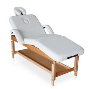 Lettino massaggio professionale estetista - LM190LUP, Lettino professionale per massaggi, pratico e confortevole
