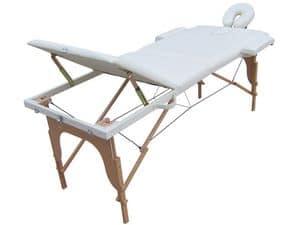 Lettino massaggi pieghevole � LM185WOD, Lettini per massaggio adatto per spa e centri massaggio