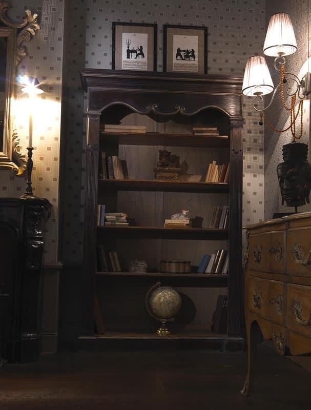 2004 librerie in stile classico soggiorno idfdesign for Piani di libreria stile artigiano