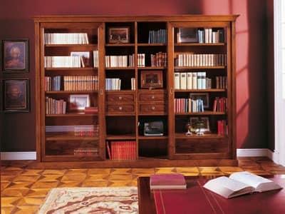 Immagine Di Libreria Componibile Classica In Stile Classico Pictures