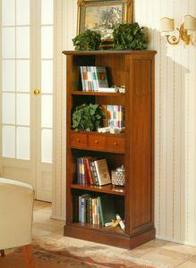 Art. 859, Libreria classica con ripiani a giorno