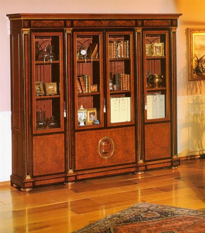 libreria elegante classica per studio professionale
