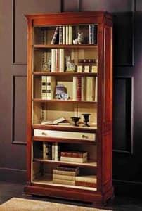 libreria-classica-bicolore-libreria-in-stile.jpg