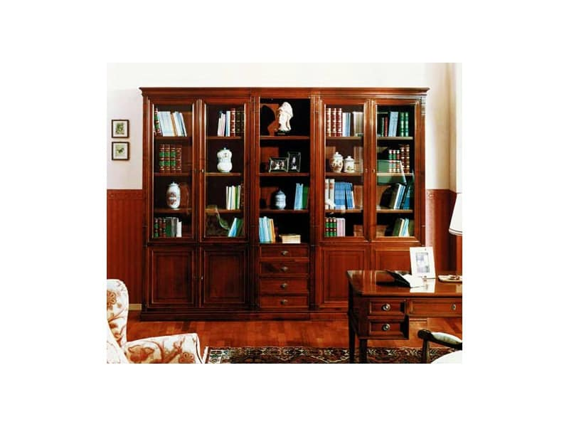 Libreria componibile realizzata a mano made in italy for Arredamento made in china