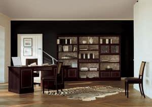 Immagine di Luxury Cubica Libreria, librerie lavorate a mano