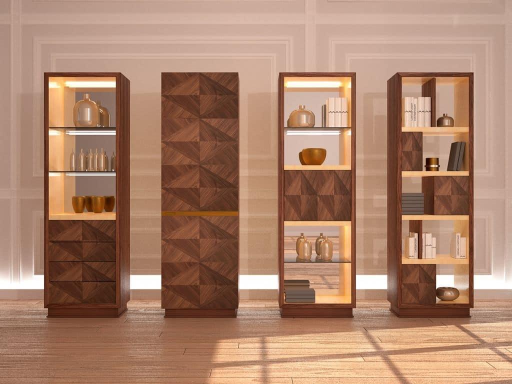 Mobili per soggiorno in stile classico contemporaneo idfdesign - Mobili particolari per soggiorno ...