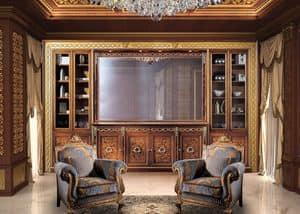 Paradise C/518/2, Libreria classica di lusso