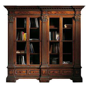 Sillano ME.0124, Libreria classica, con capitelli corinzi
