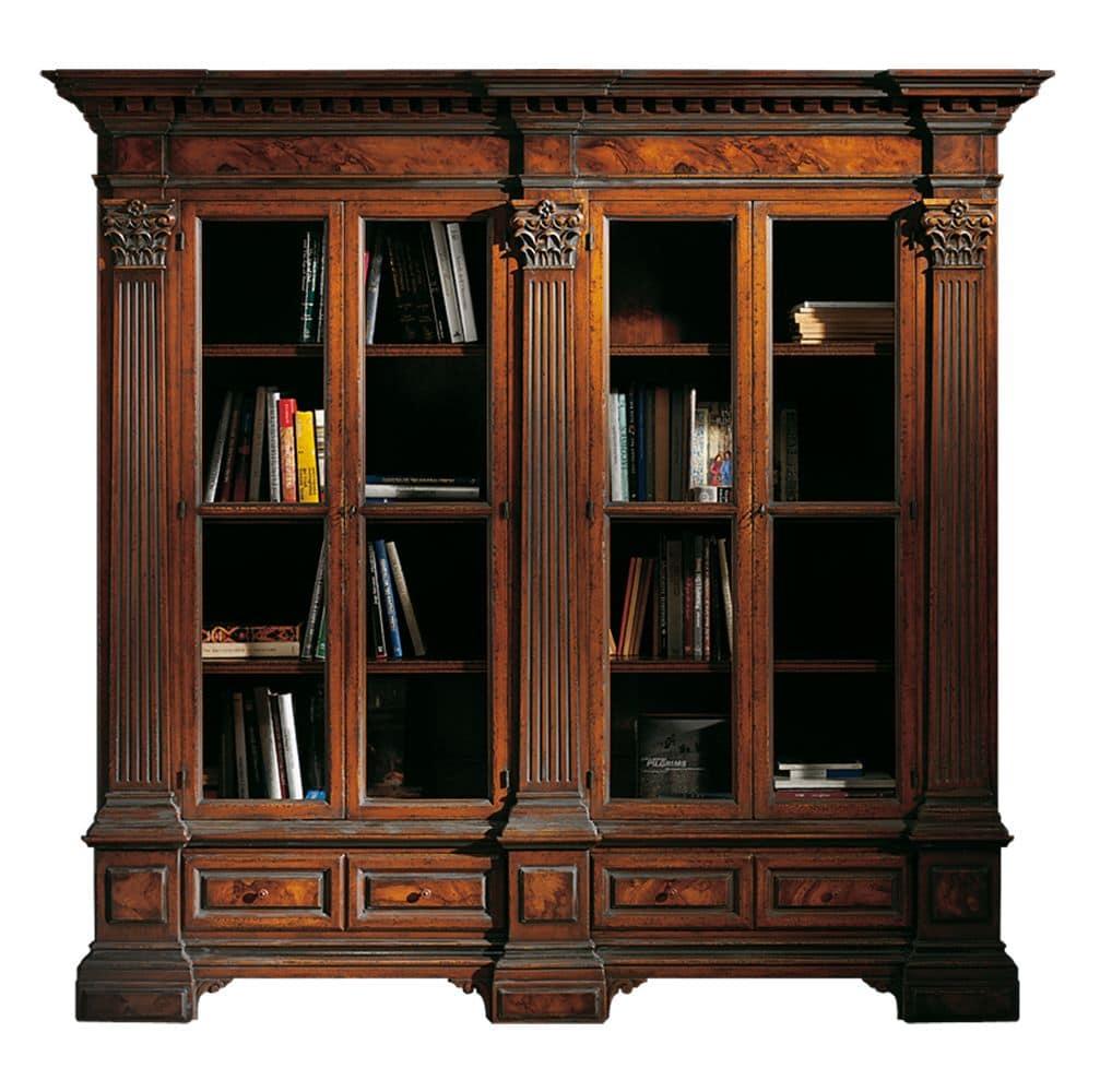 Libreria in cartongesso stile barocco la scelta giusta for Foto di design della casa con planimetria