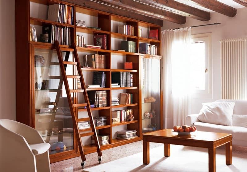 scala libreria design : Home Arredo Zona giorno Sistemi modulari e pareti attrezzate Telaro ...