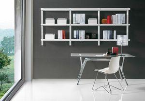 Big parete, Libreria moderna per l'ufficio e la casa