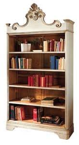 Catherine BR.0052, Libreria laccata, con 4 ripiani regolabili