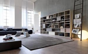Citylife 33, Libreria moderna, adatta per arredare ambienti residenziali