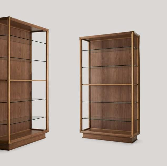 Didier libreria, Libreria moderna in legno
