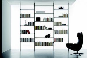 dl300 clark, Libreria modulare a parete o bifacciale