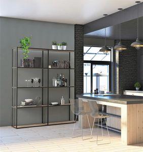 dl400 modus, Librerie modulari in alluminio