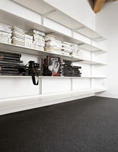 Dot System, Libreria modulare design, in alluminio resistente