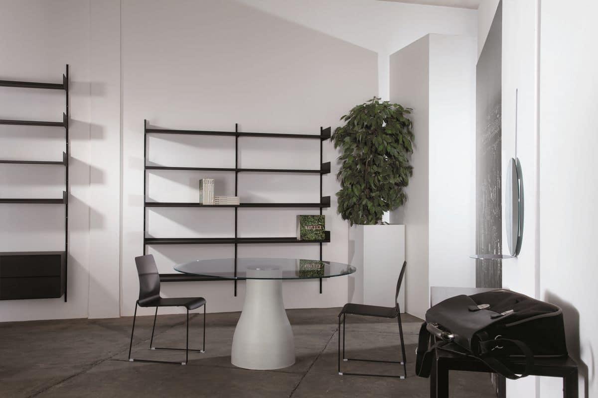 Libreria Metallo Modulare.Libreria Modulare In Metallo Laccato Adatta Per Farmacie E