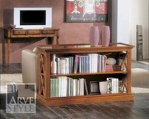 Giove libreria, Libreria bassa in legno massello