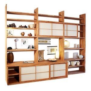 Haru-A, Libreria su misura con porta TV