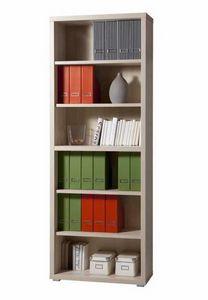 Libreria In Legno 6 Ripiani Design Moderno Ufficio E Studio MAGAZINE, Libreria moderna modulare in legno