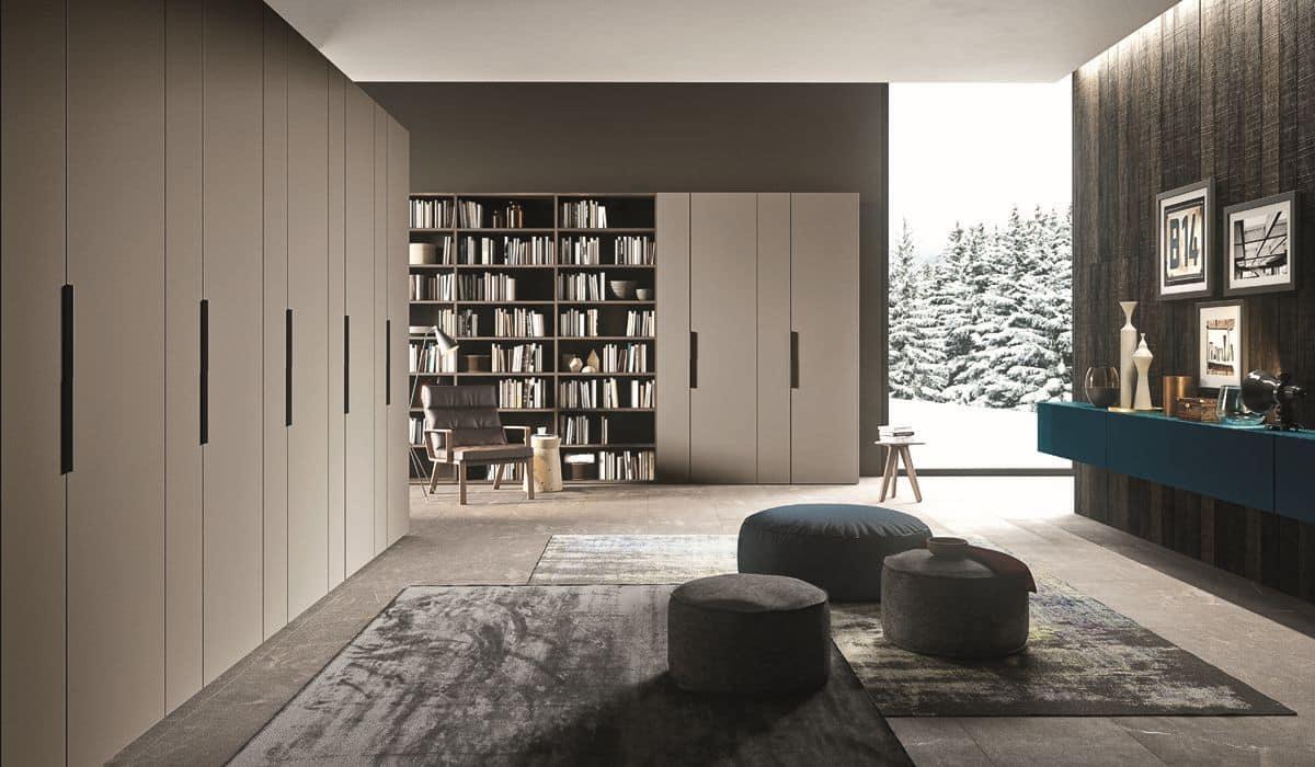 Arredamento moderno per zona giorno - ONE_N07 by Siloma Srl
