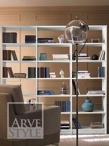 Salieri libreria, Libreria in legno, dal design sobrio ed elegante