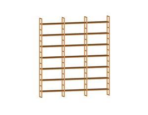 Scala FS3410174, Libreria componibile in legno