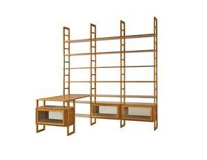 Scala FS3410176, Libreria componibile in legno