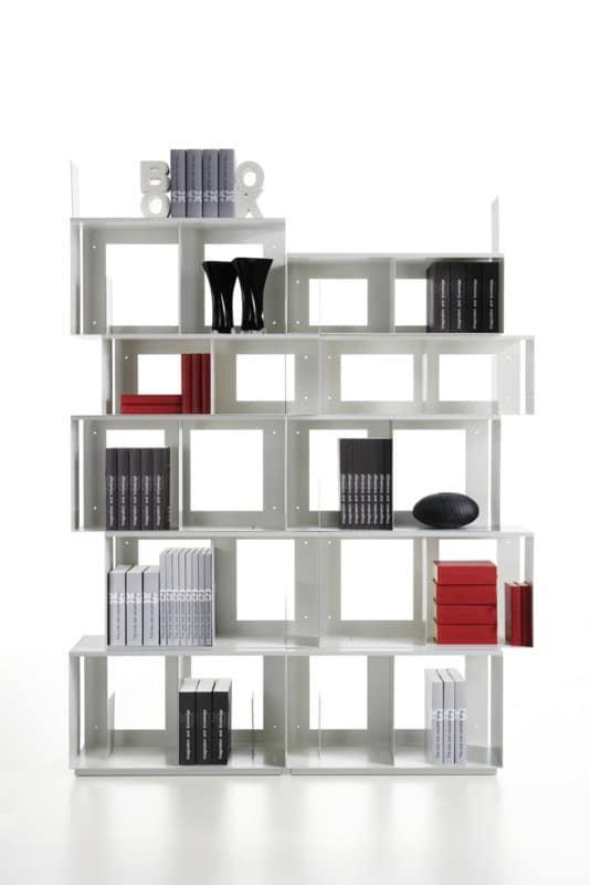 Libreria design modulare facile da montare idfdesign - Librerie arredo design ...