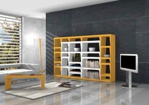 Shoeila, Libreria Design in laminato laccato