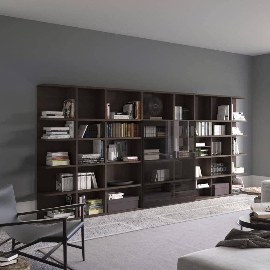 Libreria modulare fatta su misura per uso professionale for Libreria modulare